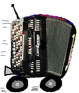 One of Claudio Allodi's accordions